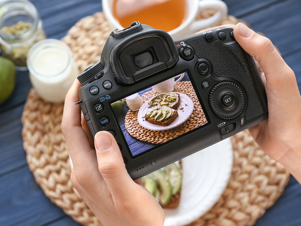 Invest in good food photography